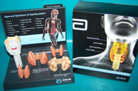 Thyroid  Pharmaceutical and Anatomical Model Gifts